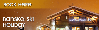 Early booking deals in Bansko