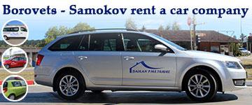 Borovets - Samokov rent a car company