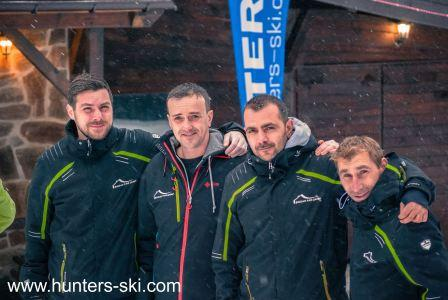 depot staff winter season 2016/2017 - Hunters Ski School Borovets