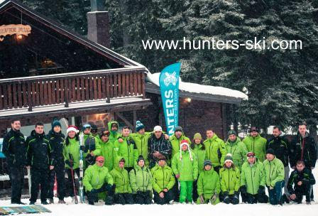Hunters team winter season 2016/2017 - Hunters Ski School Borovets