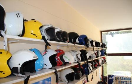 Hunters helmets - Hunters Ski School Borovets
