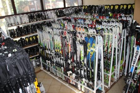 Hunters ski equipment - Hunters Ski School Borovets