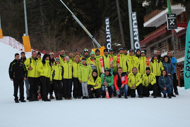 hunters ski school 2017/18 team - Hunters Ski School Borovets