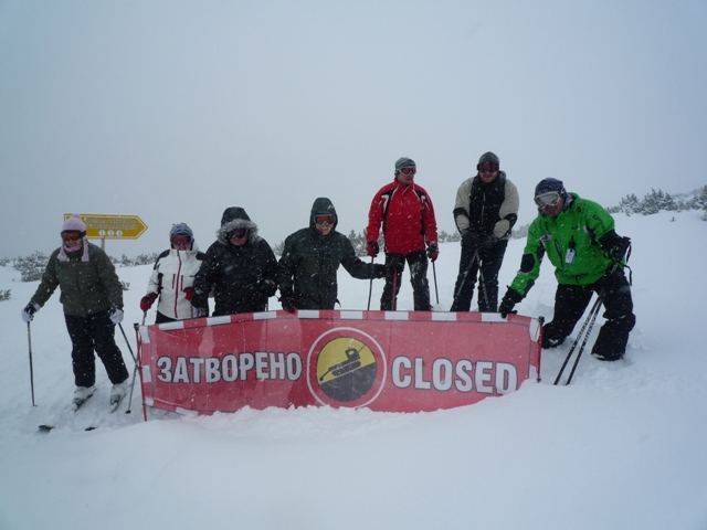 Best snow so far this season 2 - Hunters Ski School Borovets