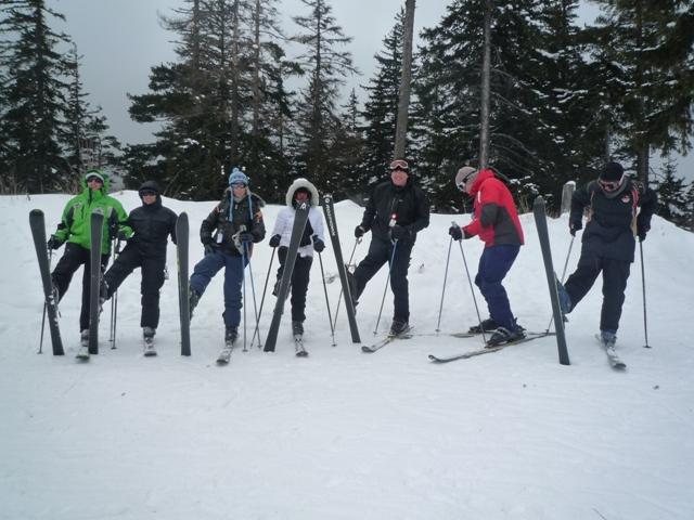 Meggi's class 6 - Hunters Ski School Borovets