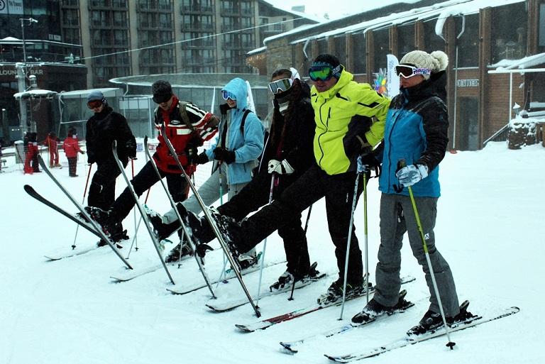 Standard full ski pack