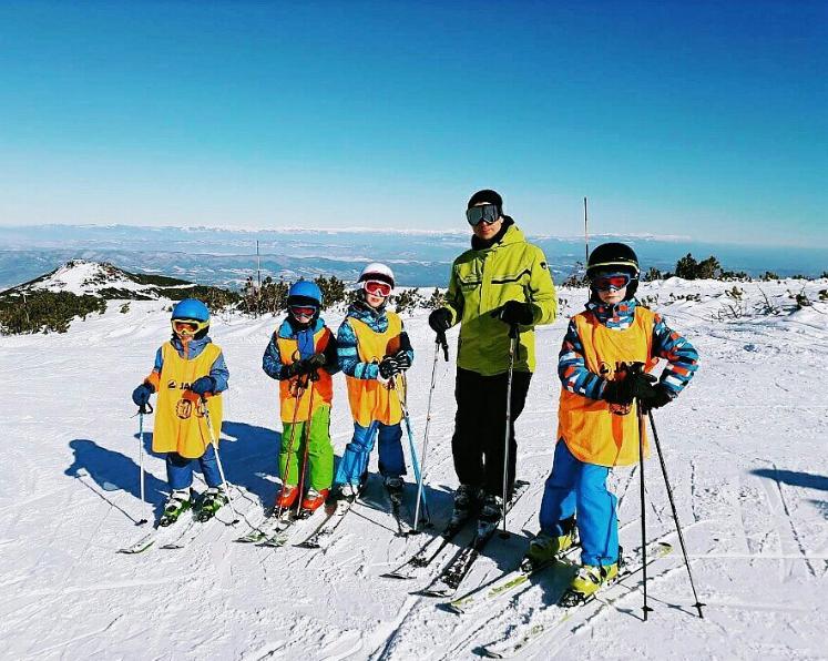 Individual ski lessons