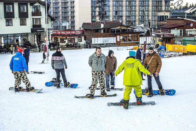 Standard snowboard hire (no boots)