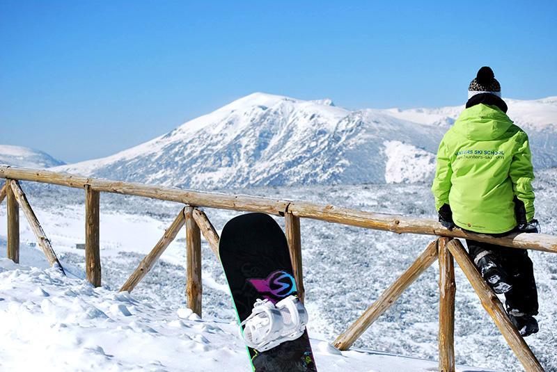Snowboard test