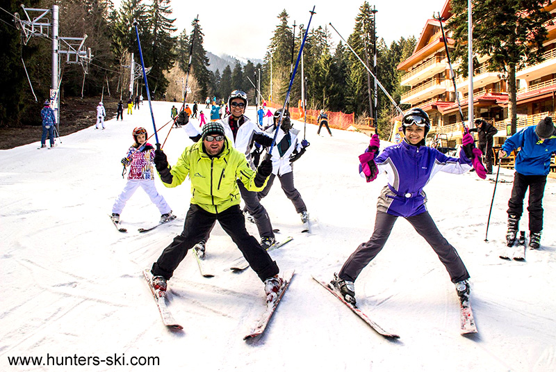 Hunters Ski And Snowboard School In Borovets Bulgaria