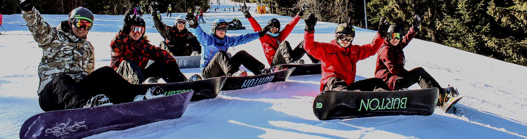 Full snowboard Packs