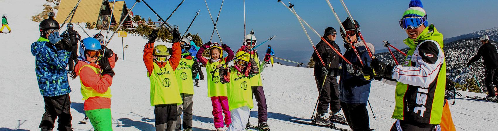 Private ski and snowboard lessons